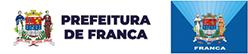 Logo da Prefeitura Municipal de Franca. Ao clicar será direcionado para o site da Prefeitura de Franca.
