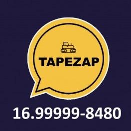 Na foto, uma ilustração com o telefone para informar e solicitar o serviço de tapa buracos realizado pela EMDEF. (16) 99999-8480